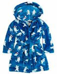 HatleySkiing Polar Bears Fleecy Robe RO2WIBE285. Available In Small 2-3 years only Autumn Winter 2015